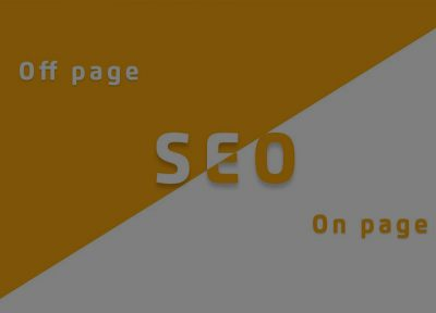 Off-page SEO و On-page SEO