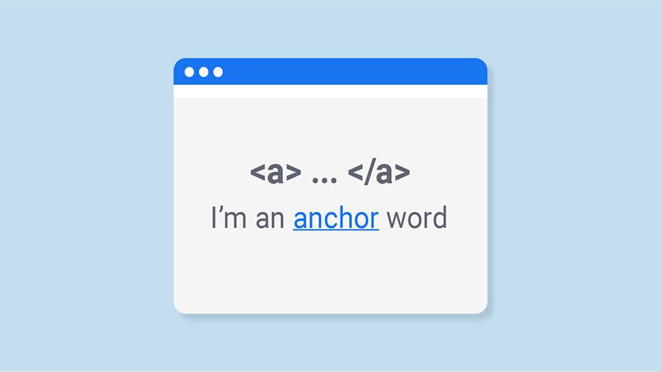 متن anchor چیست