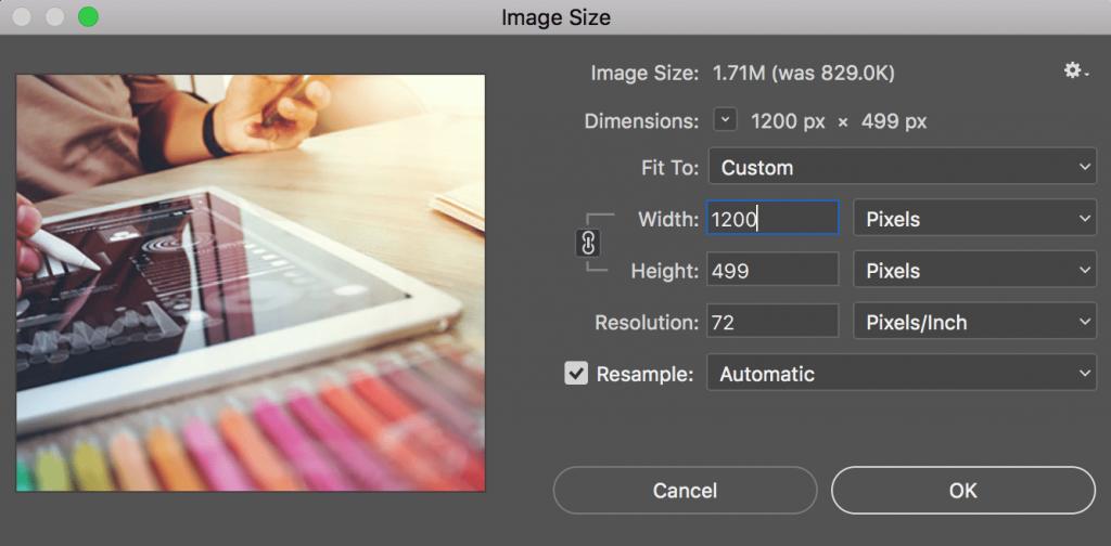 کوچک کردن سایز تصویر