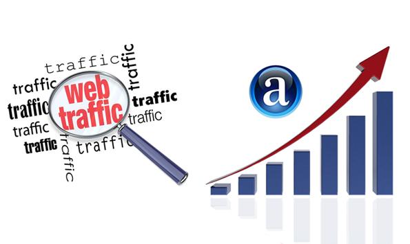 کاهش رتبه الکسا با افزایش ترافیک سایت