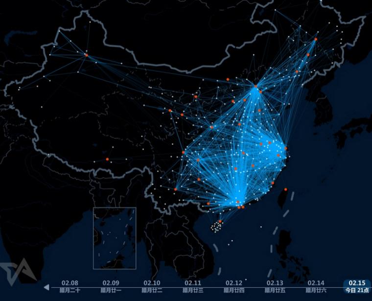 رصد بزرگترین مهاجرت دنیا توسط بایدو