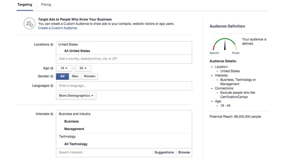 مخاطب در  بازاریابی شبکه های اجتماعی