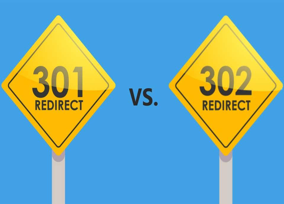 ریدایرکت 301 و 302
