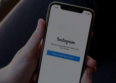 ایجاد یا حذف حساب کاربری اینستاگرام