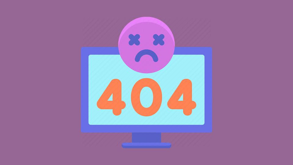 سئو صفحه 404
