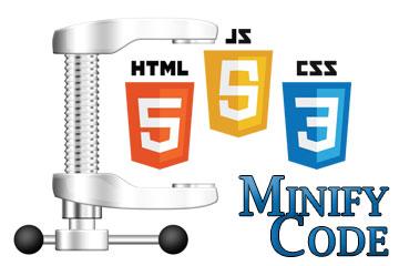 کاهش حجم - خطا Minify HTML