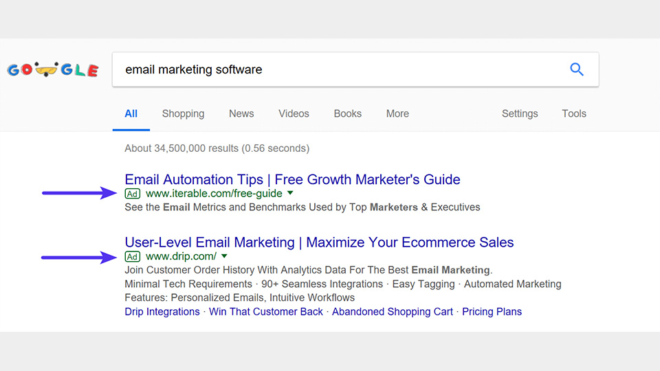 سرویس گوگل ادوردز