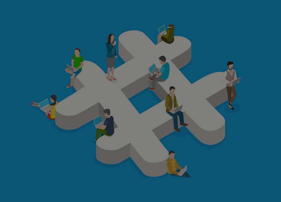 هشتگ در رسانه های اجتماعی