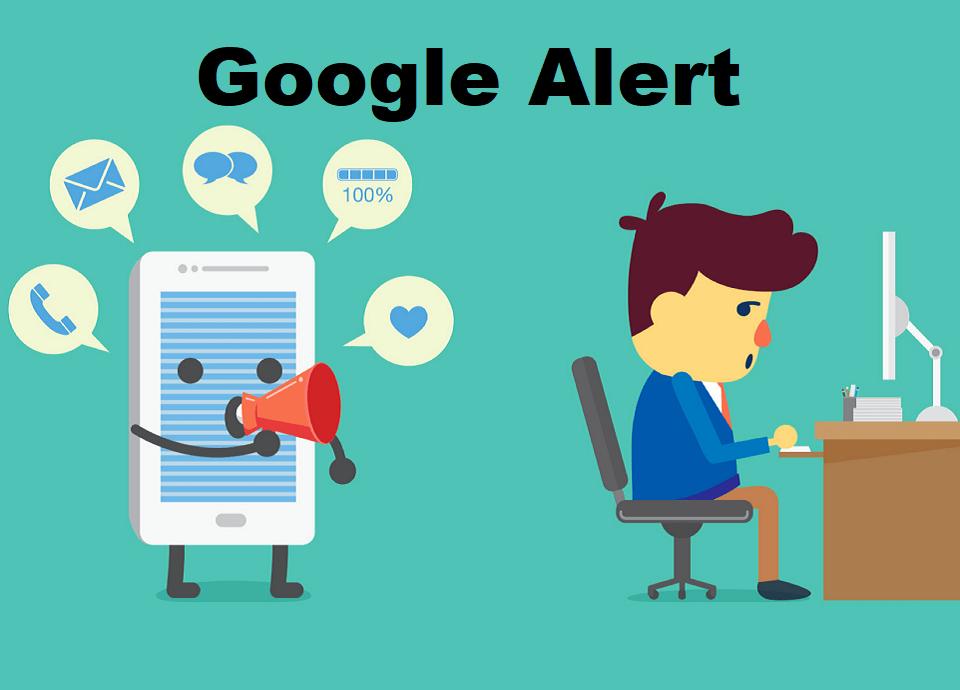 ایجاد Google Alerts