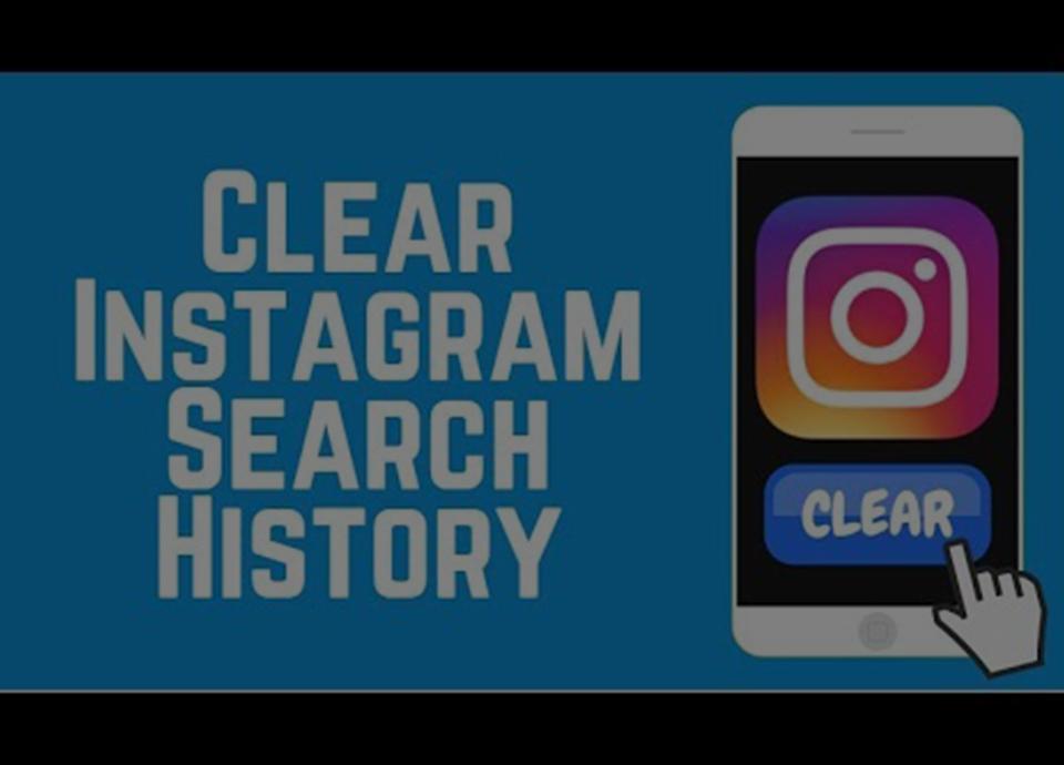 حذف تاریخچه جستجوی اینستاگرام