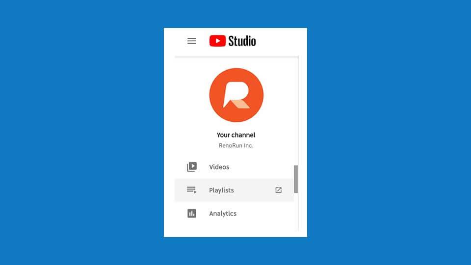 ساخت لیست پخش در کانال یوتیوب
