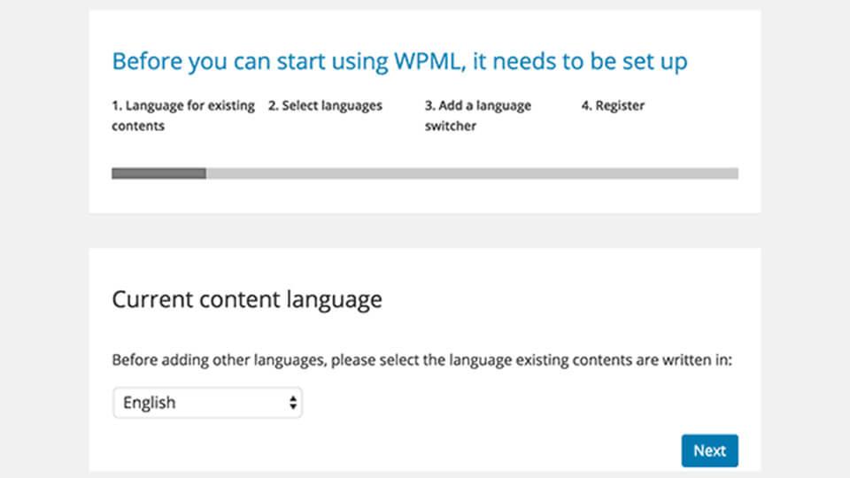 ساخت سایت چند زبانه با افزونه WPML