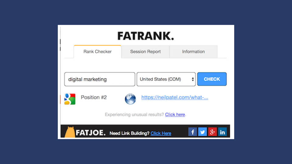 افزونه Fatrank
