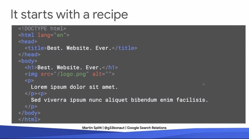 اجزا تشکیل دهنده صفحه HTML