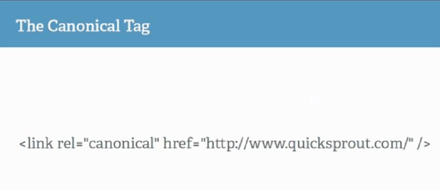 بهینه کردن سورس کد وب سایت : برچسب Canonical
