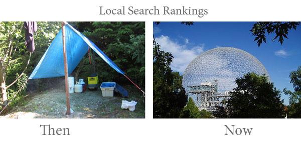 شناسایی رقبای محلی: local search ranking