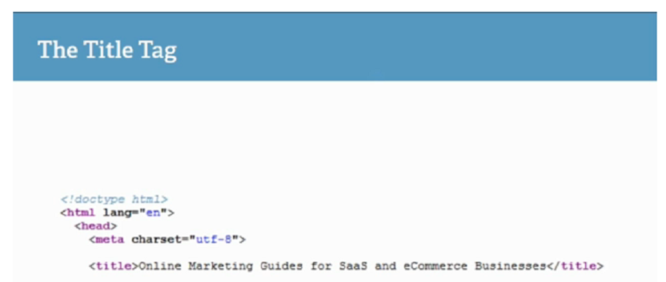 بهینه کردن سورس کد وب سایت : تگ title