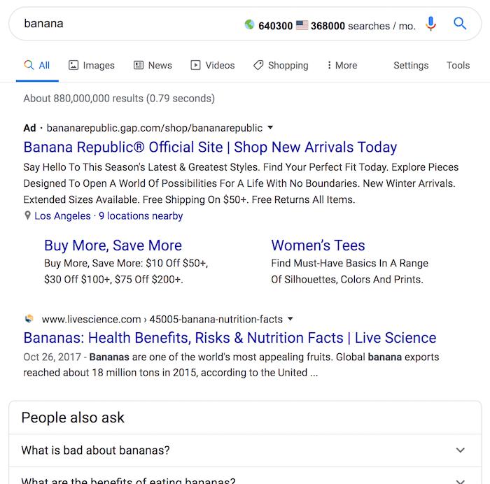 نتایج جستجوی Banana