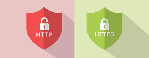 قفل بودن HTTPS و قفل نبودن HTTP