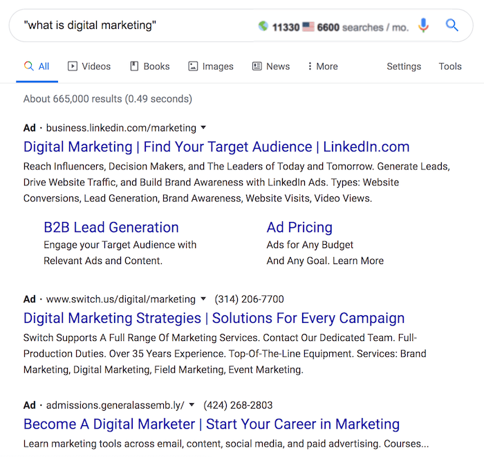 نتایج جستجوی what is digital marketing
