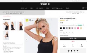 تبلیغ لباس زنانه در پینترس