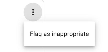 پرچم گذاری برای رفع نظر منفی