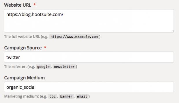 سازنده URL کمپین Google Analytics