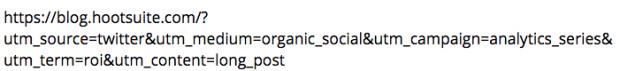 URL با پارامترهای UTM