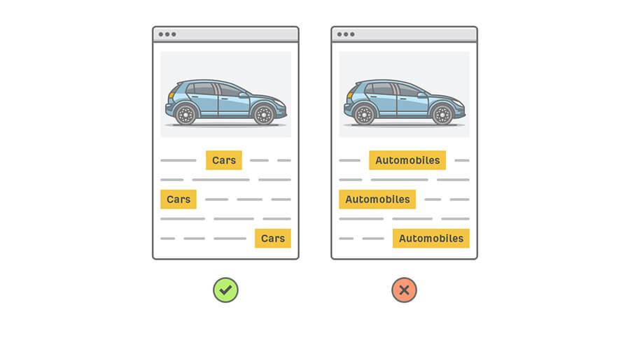 جستجوی کلمه cars