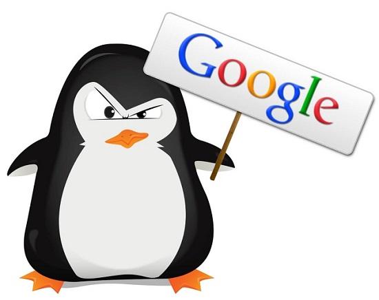 جریمه شدن توسط گوگل پنگوئن