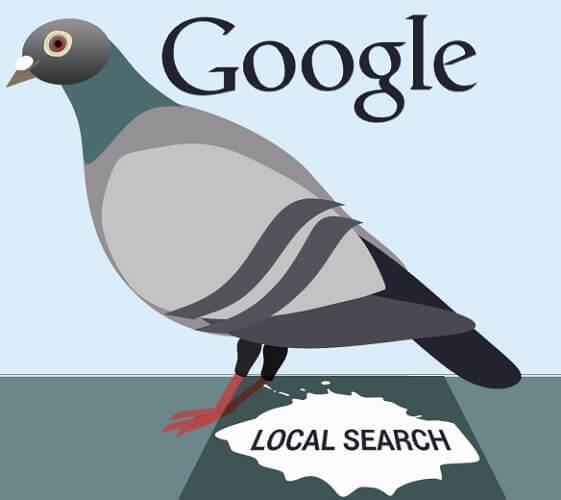 گوگل کبوتر