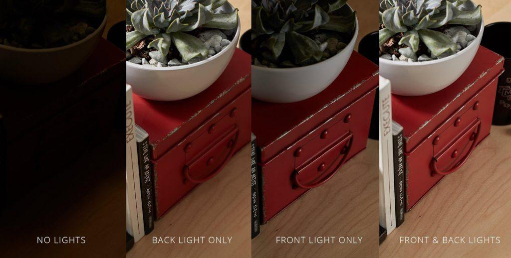 تنظیم نور برای عکاسی از محصولات