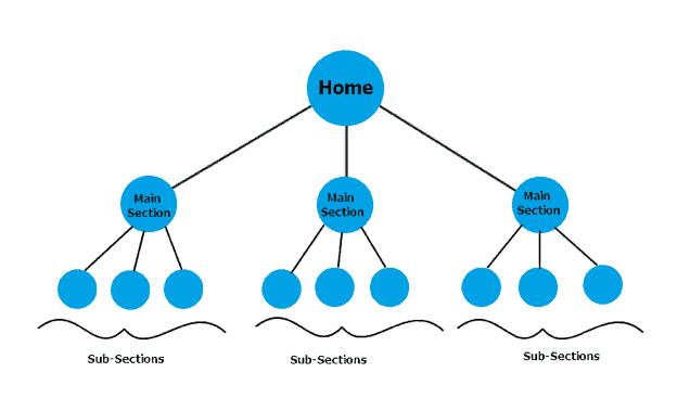 ساختار سایت و دسته بندی مقالات