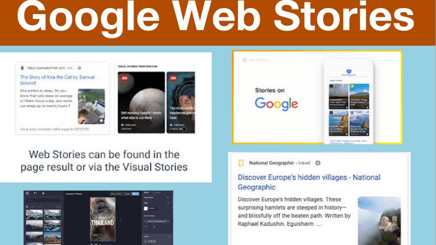 گوگل وب استوری