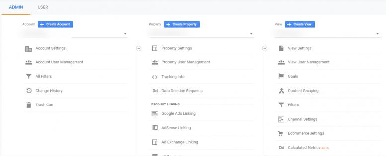 تنظیمات گوگل آنالیتیکس برای اضافه کردن کرد به وبسایت