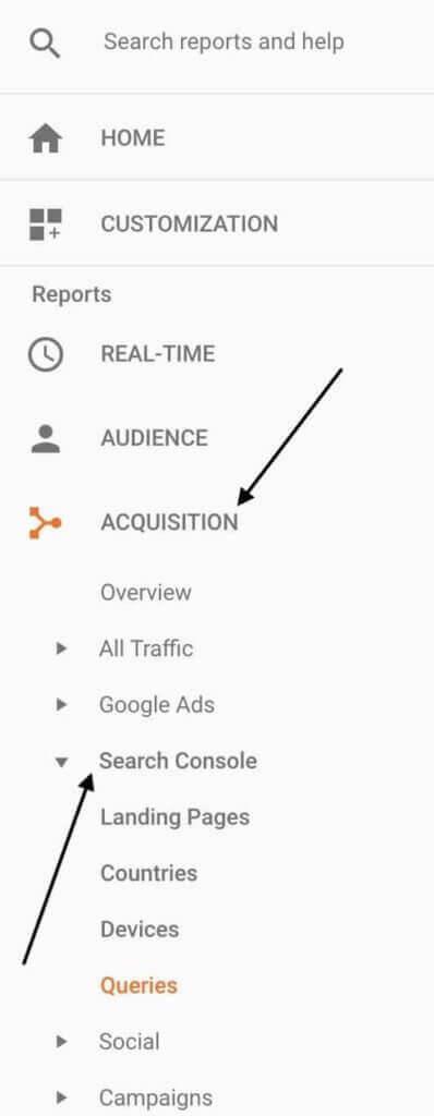 گزارش گیری در گوگل آنالیتیکس