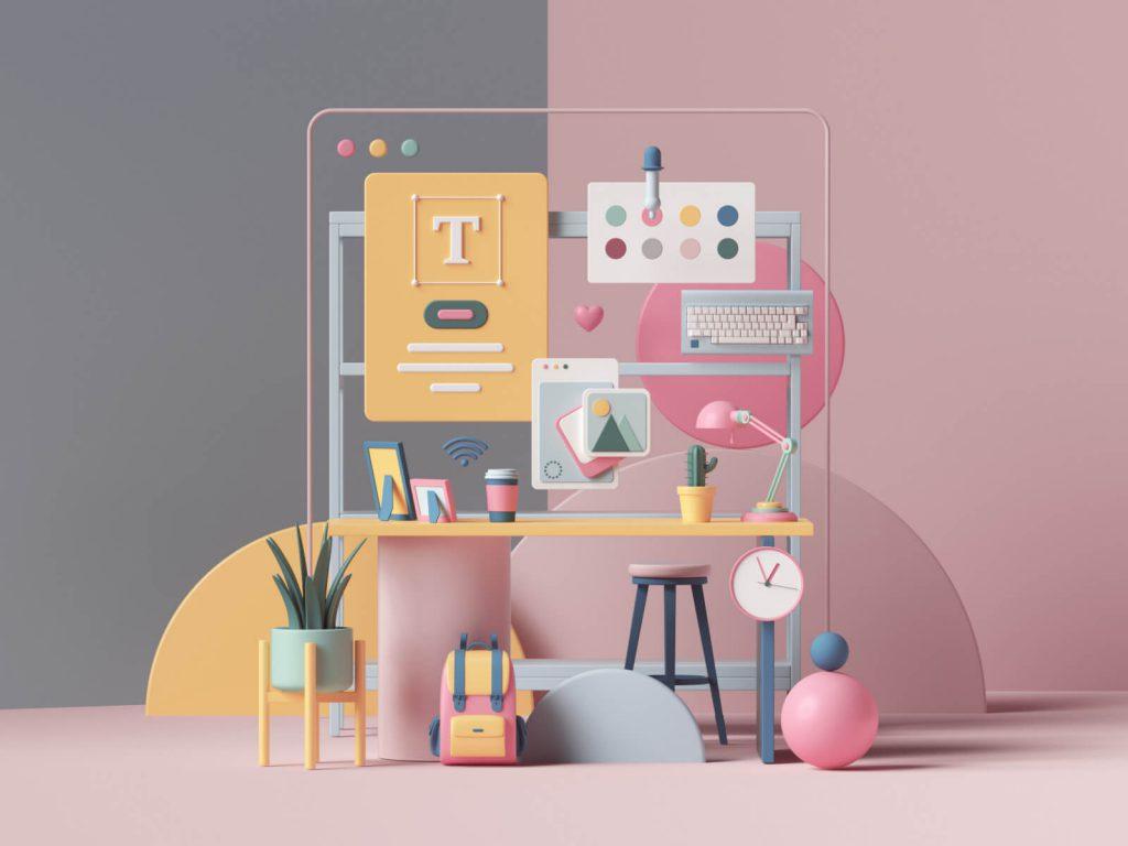 نکات طراحی رابط کاربری سایت هنری