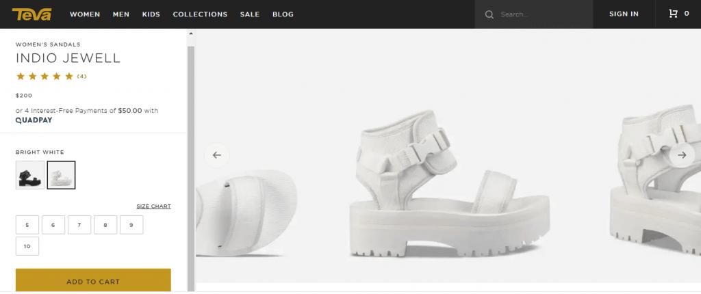 اهمیت دادن به طراحی رابط کاربری سایت پوشاک