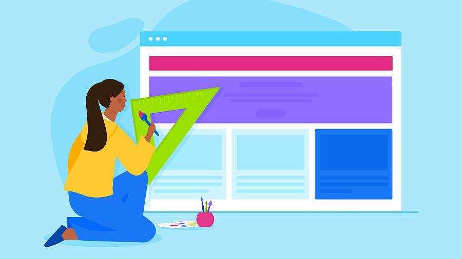 طراحی رابط کاربری سایت هنری