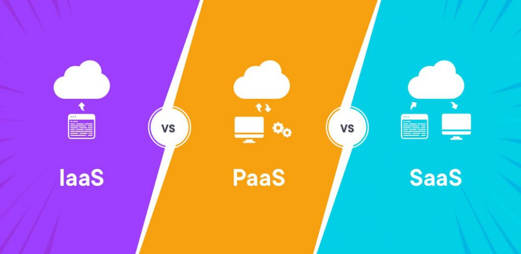 رایانش ابری IaaS و SaaS و PaaS