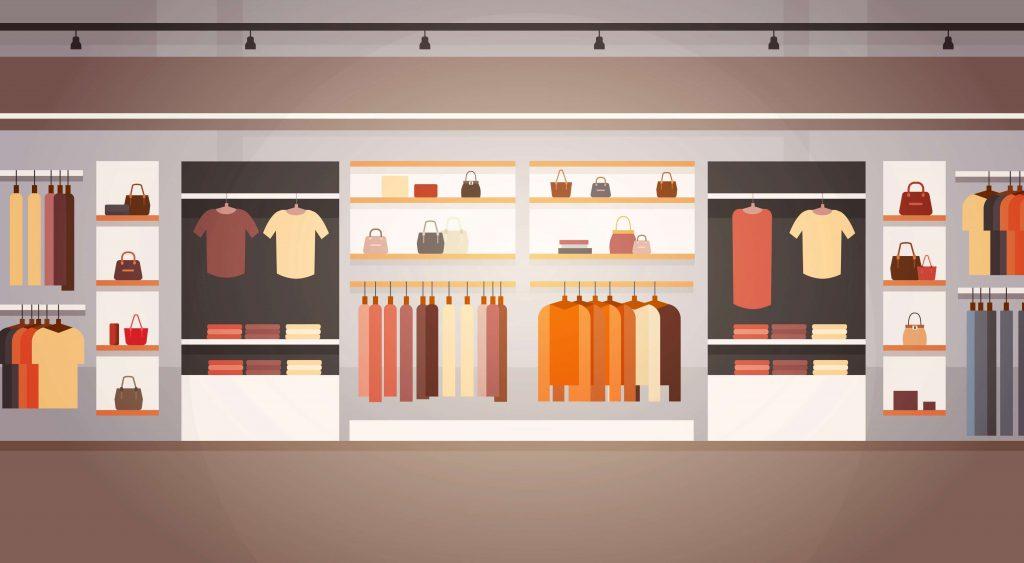 دسته بندی محصولات در سایت پوشاک