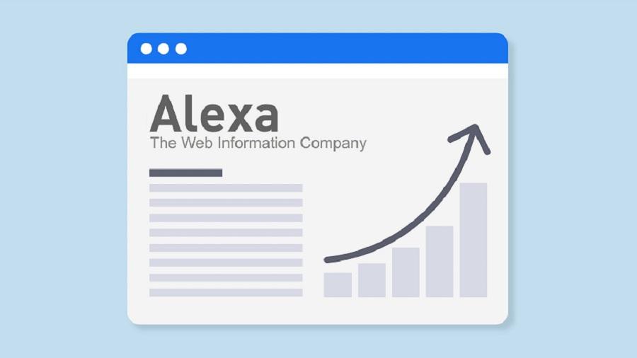 بررسی پارامتر های رتبه الکسا