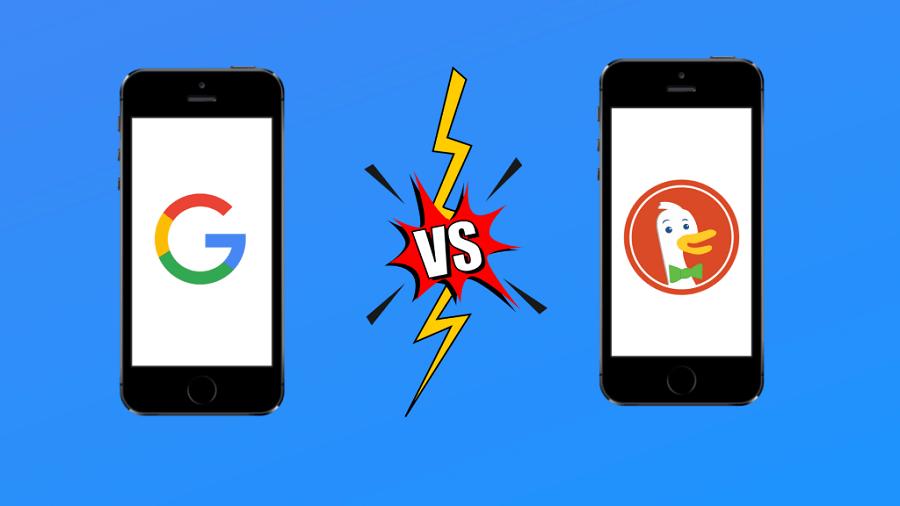 مقایسه موتور جستجو DuckDuckGo و گوگل