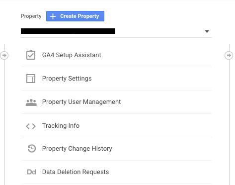 تنظیمات راه اندازی گوگل آنالیتیکس 4
