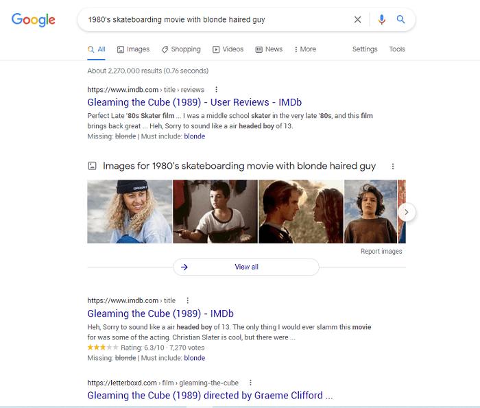 نمایش جستجو دلخواه در موتور های گوگل و DuckDuckGo