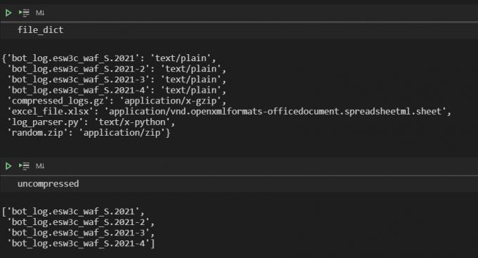 استفاده پایتون Logfile