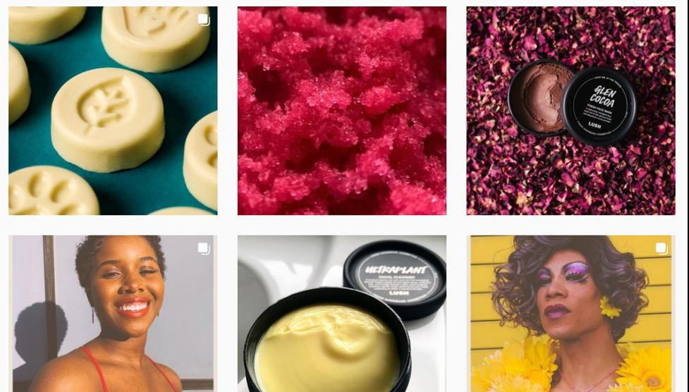 برنده کمپین تبلیغات اینستاگرام - Bonus: Lush Cosmetics