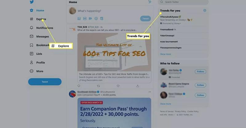 روش استفاده از هشتگ توییتر