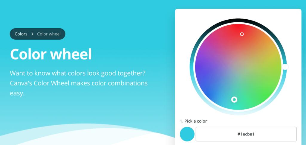 انتخاب تم رنگی برای سایت