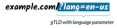 gTLD با پارامترهای زبان
